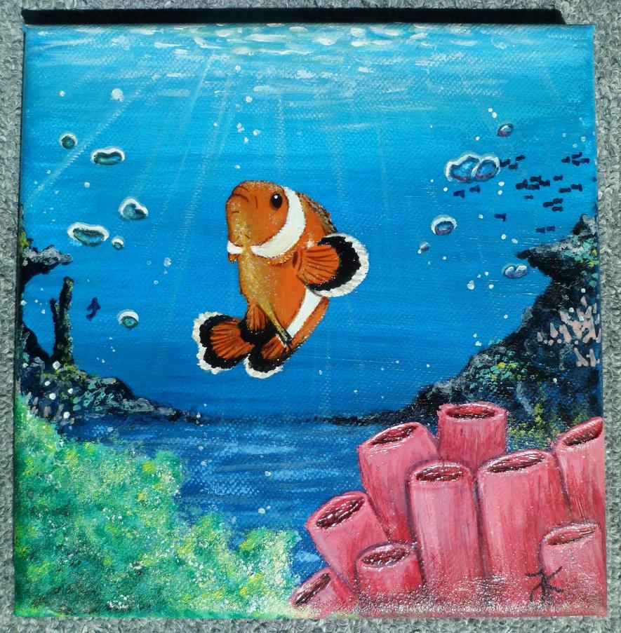 Unterwasserwelt by JessiZeichnet