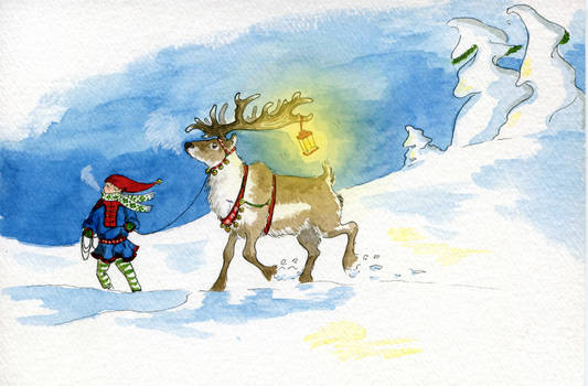 Gathering the reindeer