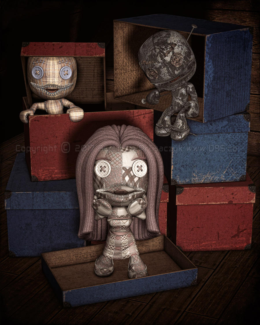 Lost Dolls by dream9studios