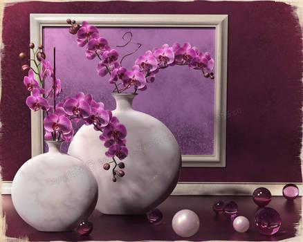 Orchid Zen by dream9studios