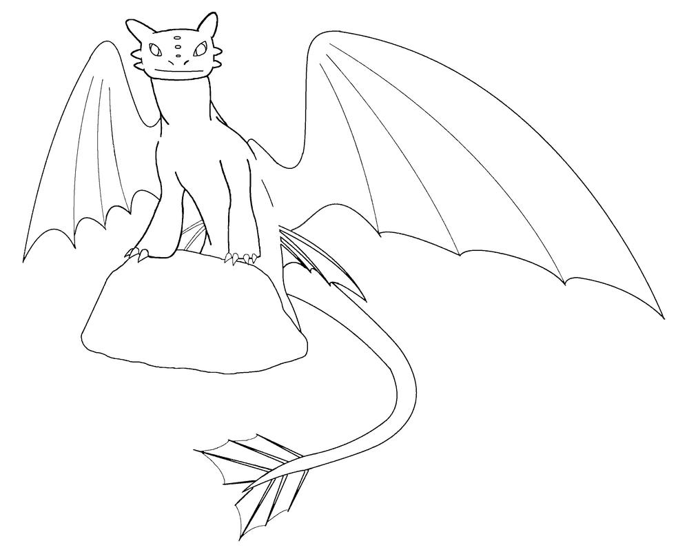 Toothless color me by shoyzzfanart on deviantart for Toothless dragon coloring pages