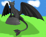 Toothless Colored