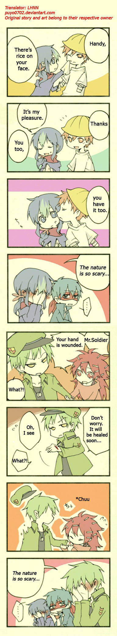 HTF doujinshi translation #17: The nature is scary by minglee7294