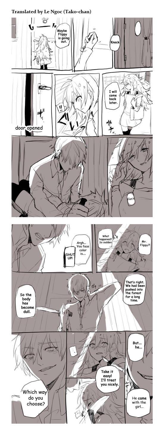 HTF doujinshi translation 37: Beastly by minglee7294