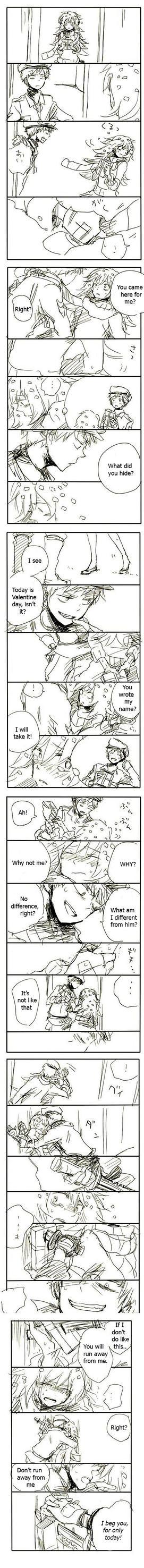 HTF doujinshi 62: Don't run away from me. by minglee7294