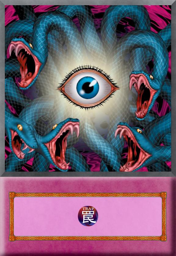 Yu Gi Oh Anime Card Gorgons Eye By Jtx1213