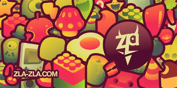Zla Zla Artwork by linnch
