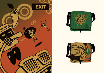 Exit Shop - Poster and Bag