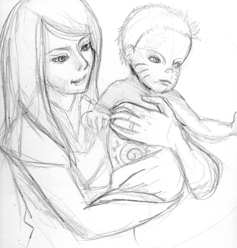 Mother and Son by DoodlePandaa on DeviantArt