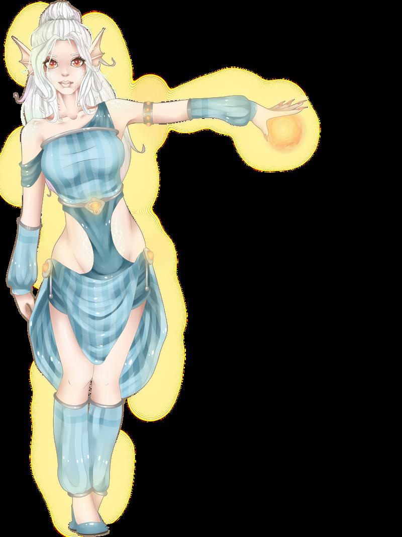 Kyriah -FairyMela's Contest- by Pilocre