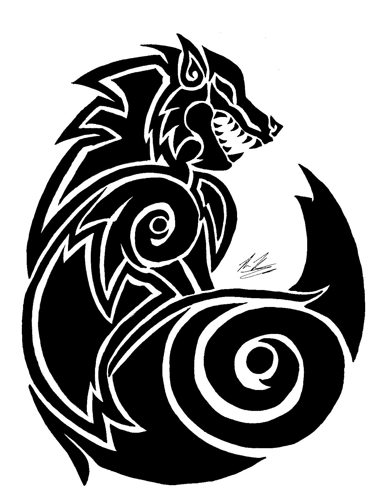 Fenrir wolf symbol - photo#9