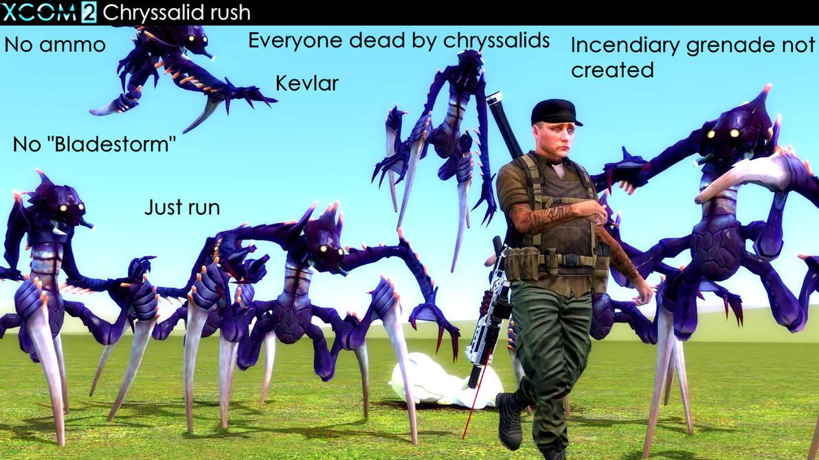 Chryssalid Rush Stories From Xcom By Falloutshararam On Deviantart