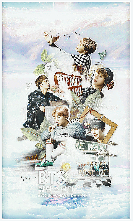 09022017 YOU NEVER WALK ALONE by MadCharm