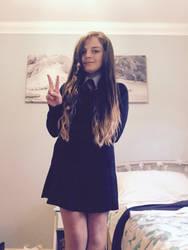 Me in my real life school uniform