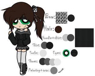 Cecilia [goth girl oc]