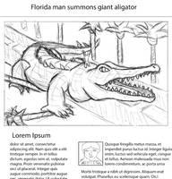 Kaijune #6: Crocodile