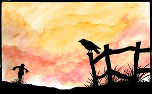 Crow Dusk by Vinzul
