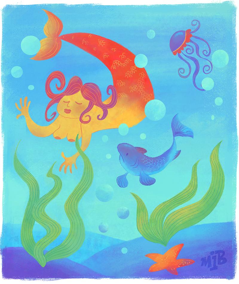 Mermaid by Vinzul
