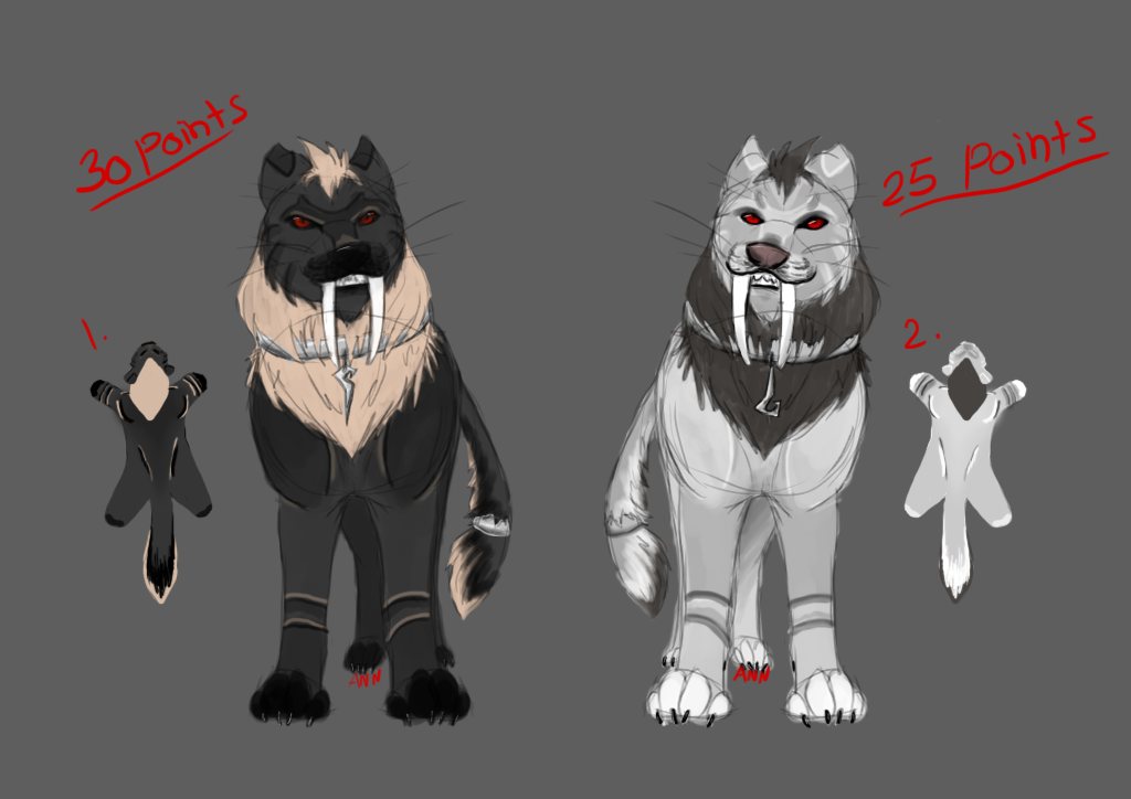 random lion adoptables-CLOSED by dragon-master-13