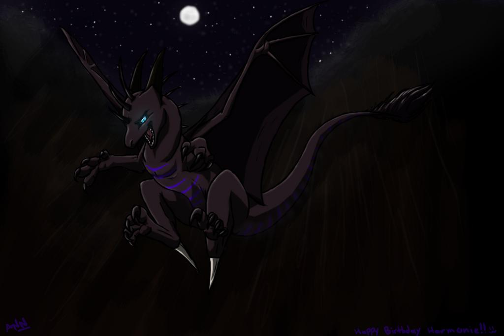 Decent-Happy B-day Fourth-Star! by dragon-master-13