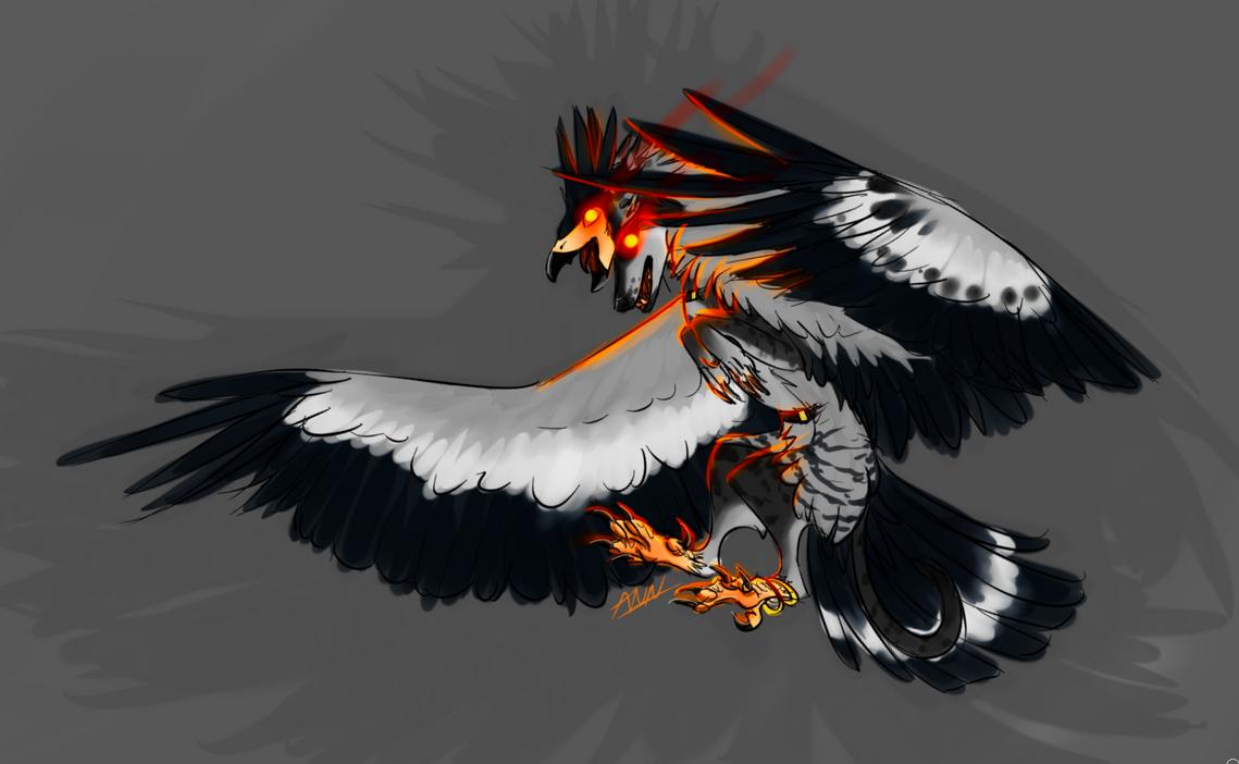Haunting Gaze by dragon-master-13