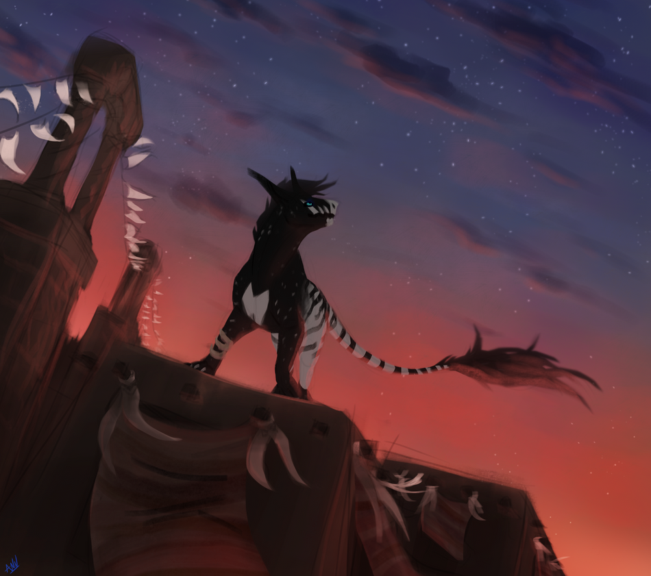 Star Gaze by dragon-master-13