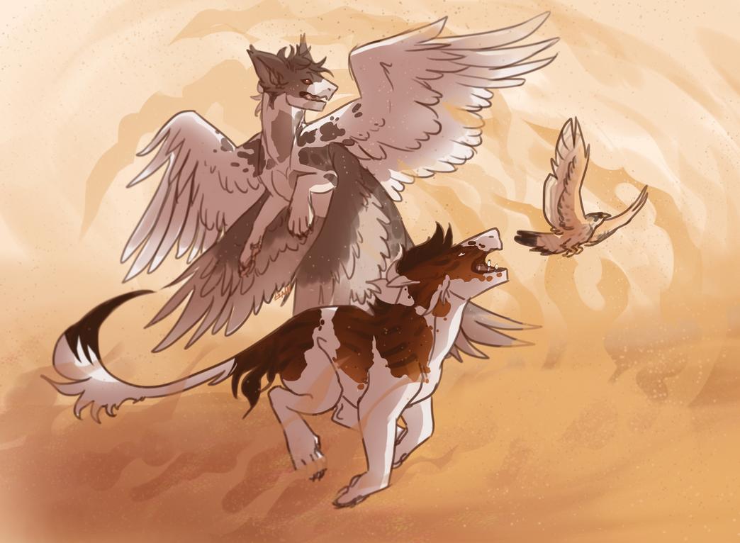 Eat My Dust Slowpokes by dragon-master-13