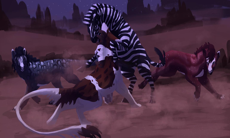 Night Stripes by dragon-master-13