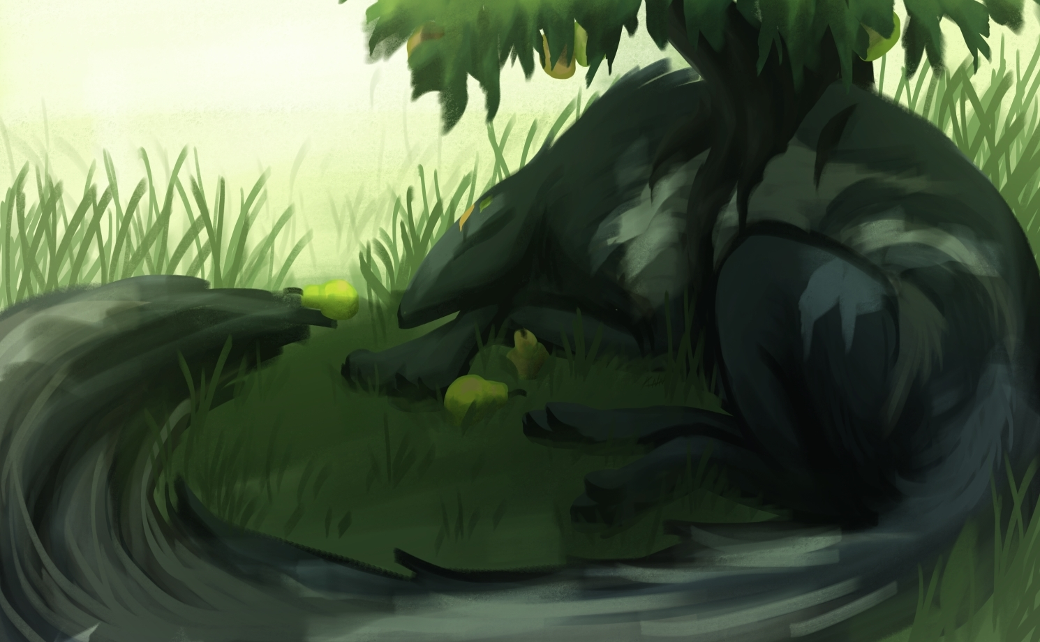 Big Snooze by dragon-master-13
