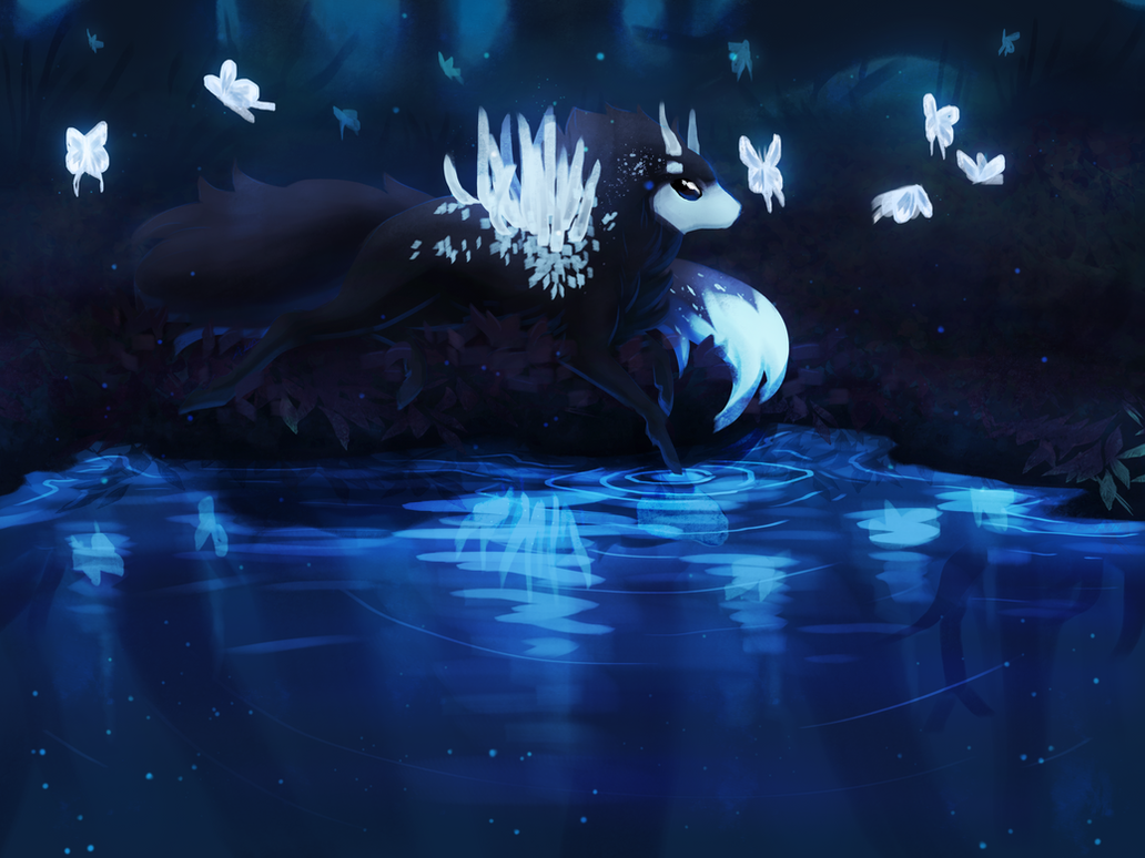 String of Spirits by dragon-master-13