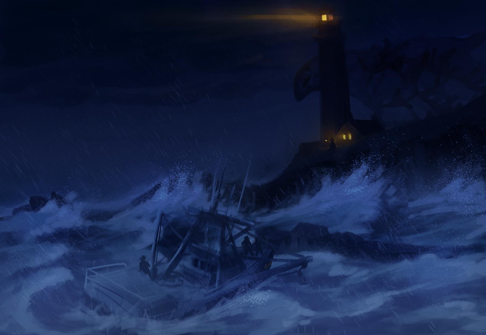 Seas Shadow by dragon-master-13