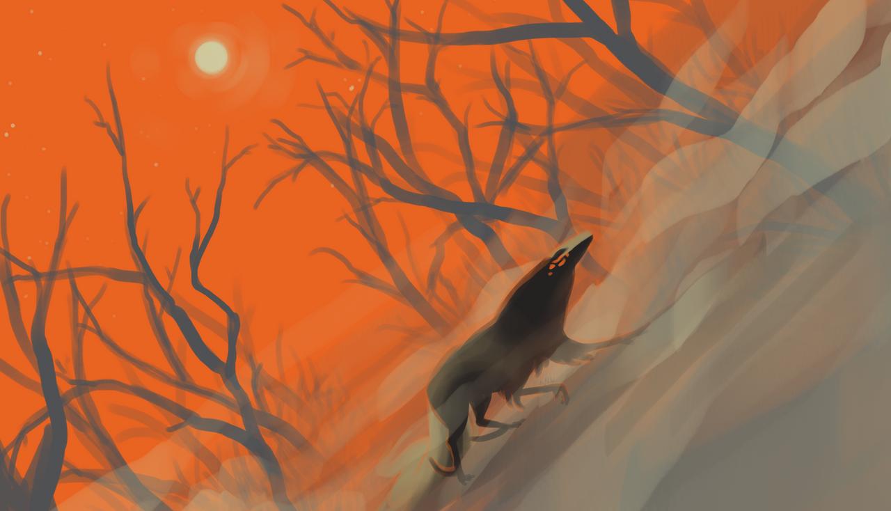 [Fall Colors] Barren Haunt by dragon-master-13