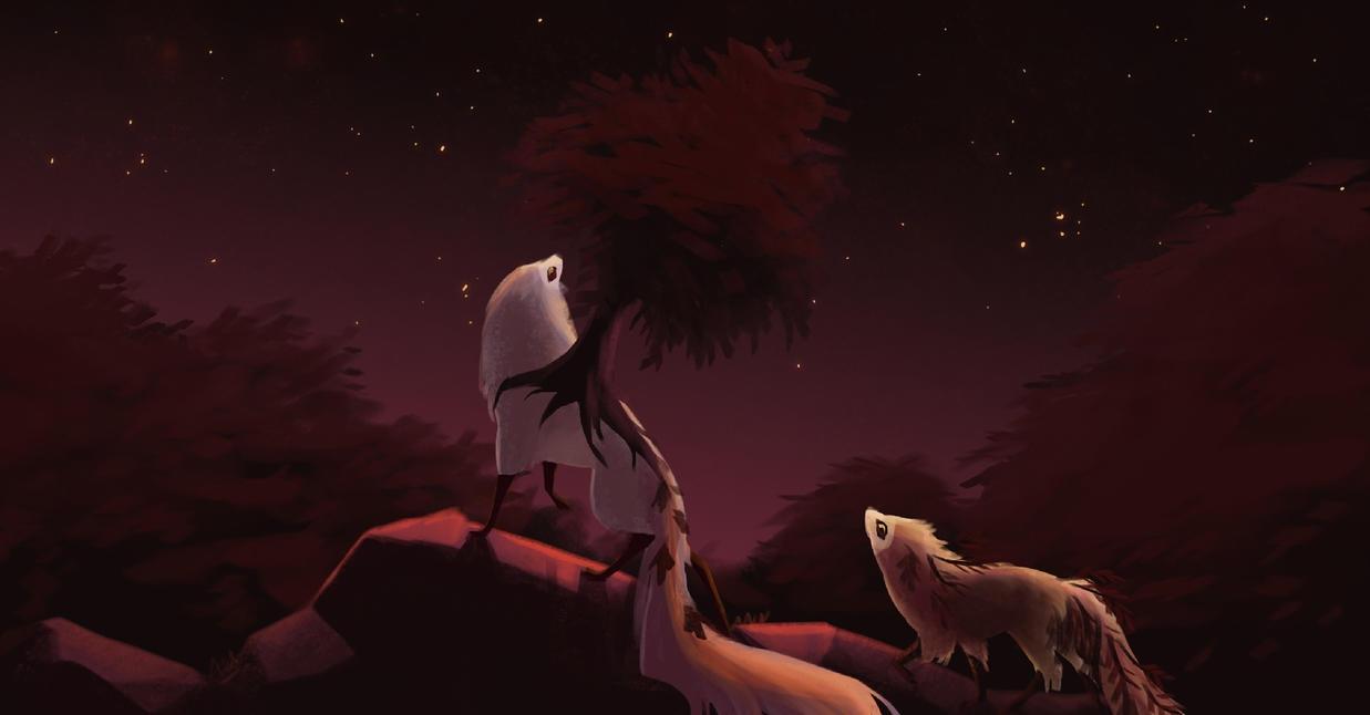 [Fall Colors] Among Stars by dragon-master-13