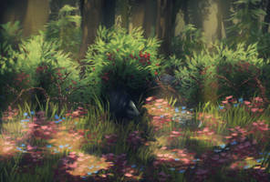 Rabbit Thicket by LIFE0N