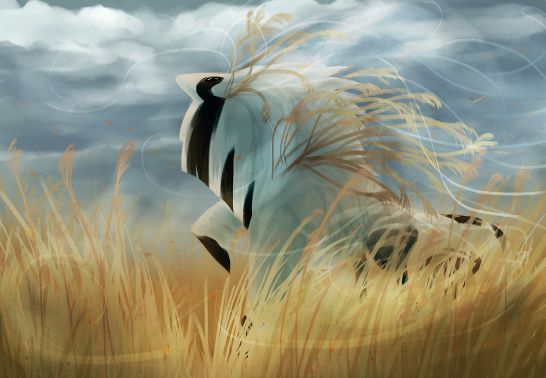 Gales in a Grass Sea by dragon-master-13