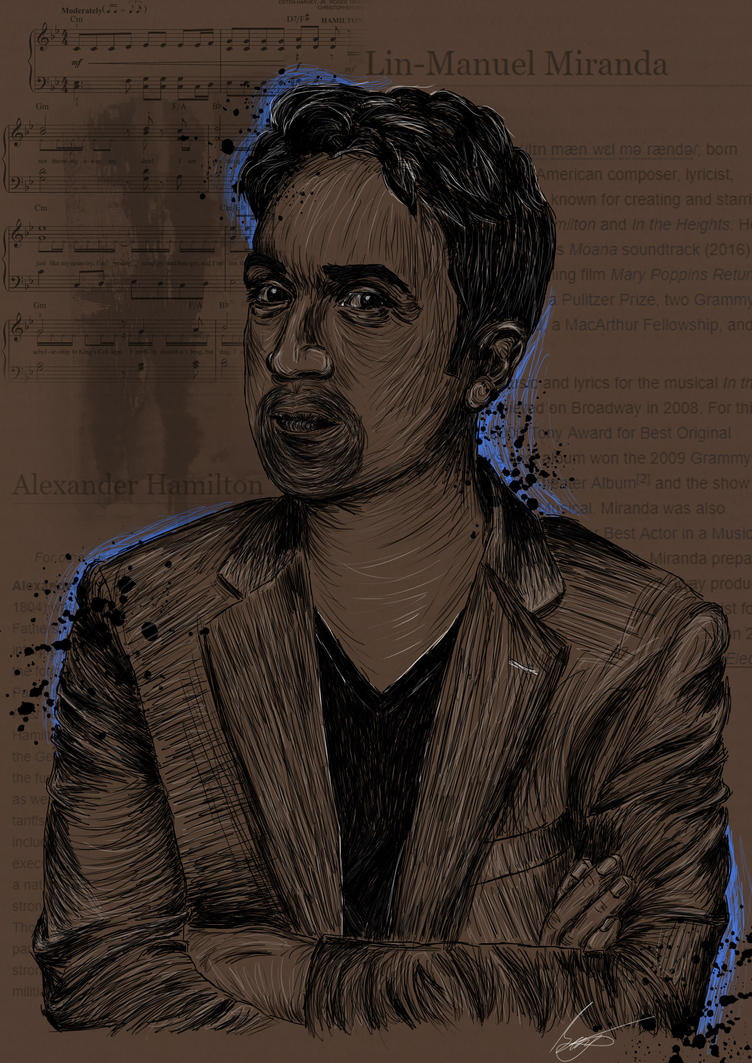Lin-Manuel Miranda by lost-iink on DeviantArt