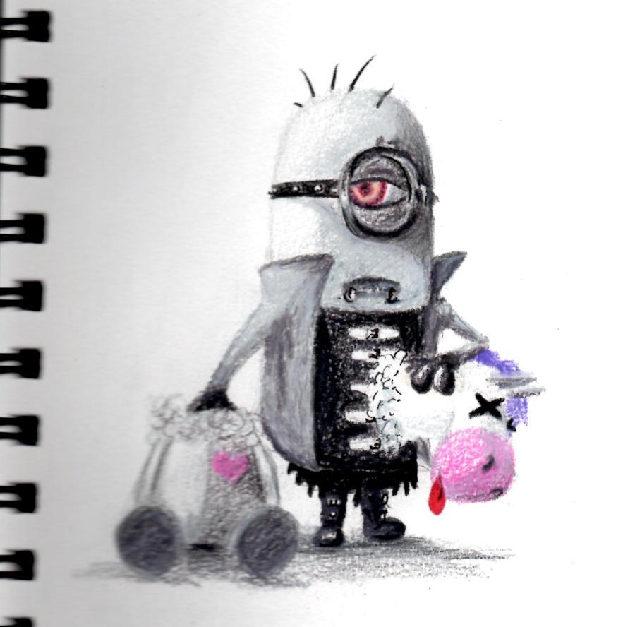 Goth Minion by BenjiroPV