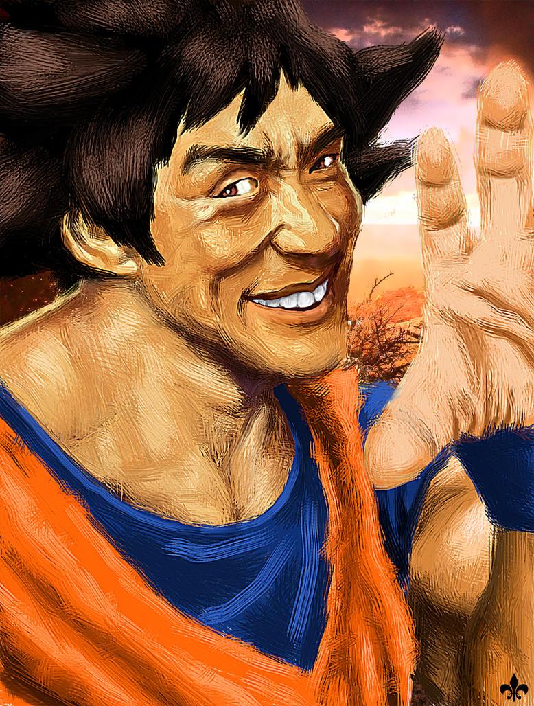 Goku by ShaneGreer on DeviantArt