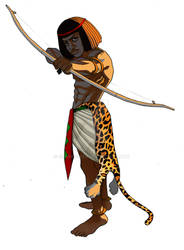 Nubian Archer color
