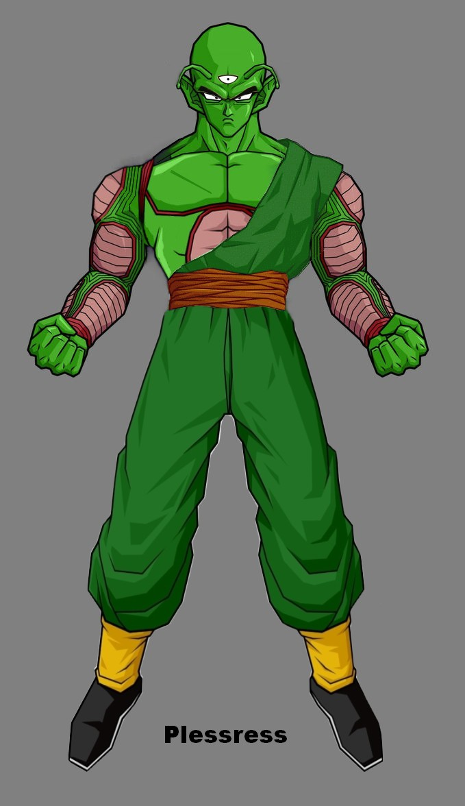 Piccolo Tien Fusion by Plessress on DeviantArt