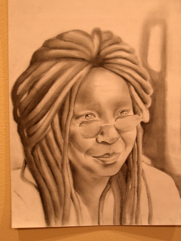 Whoopi Goldberg by CaptainBoss
