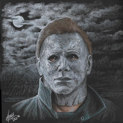 Michael Myers by AndyGill1964