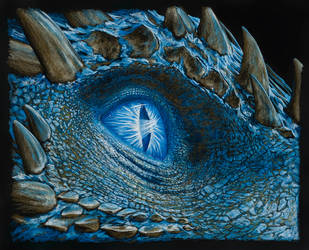 Game of Thrones Dragon eye by AndyGill1964