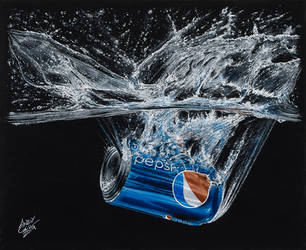 Pepsi Can Splash by AndyGill1964