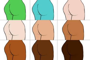 Butts Warhol by ShirouZhiwu