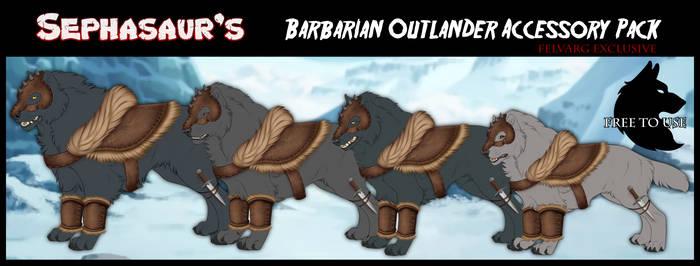 Sephasaur's Barbarian Outlander Item Pack