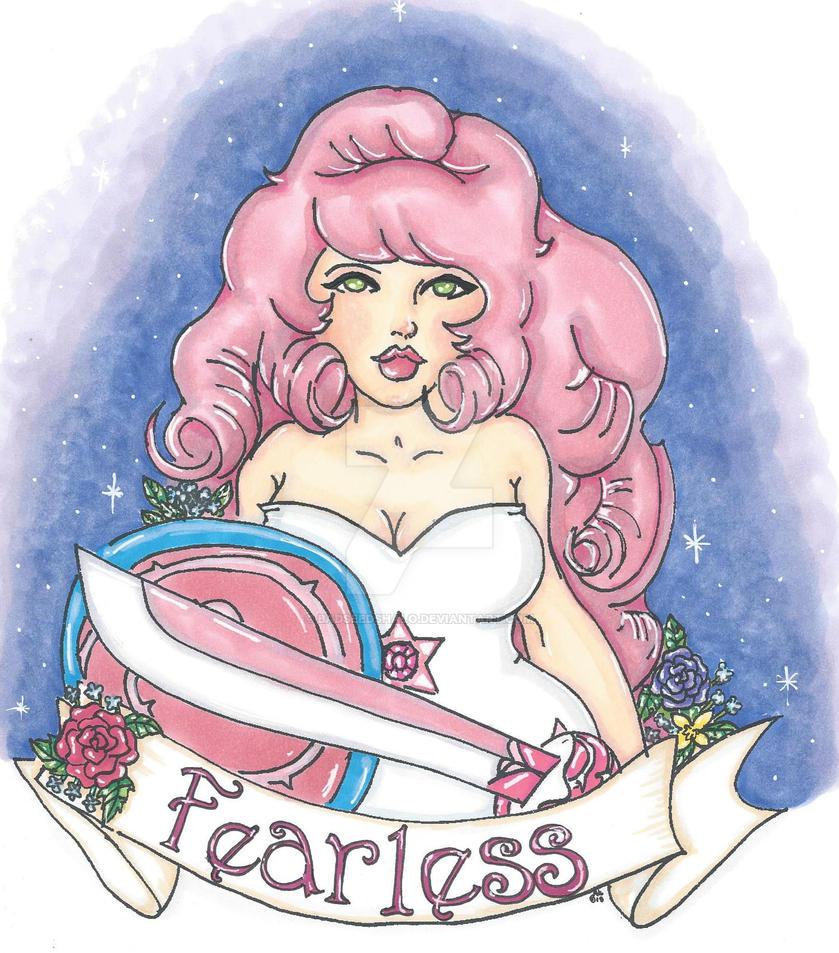 Steven Universe: Rose Quartz by Badseedshalo