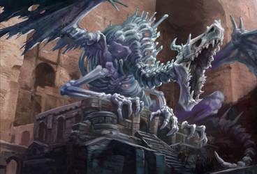 Lich Dragon02 by egilthompson