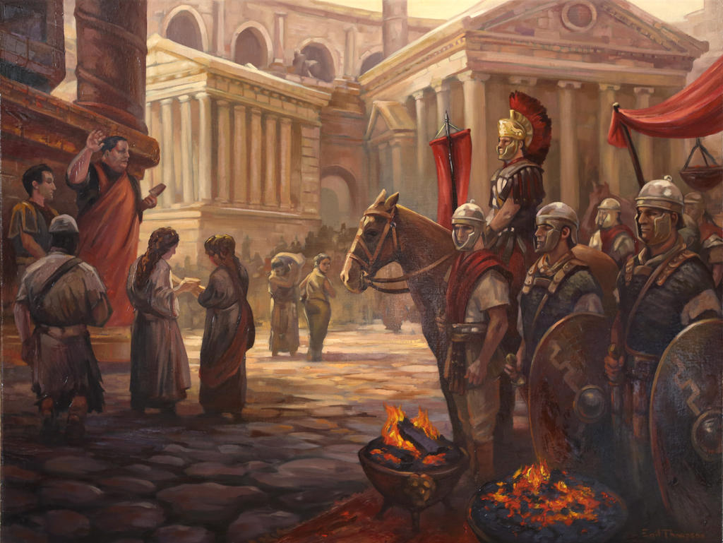 Roman Painting by egilthompson