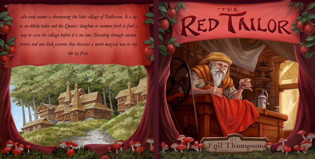 Red Tailor Cover by egilthompson